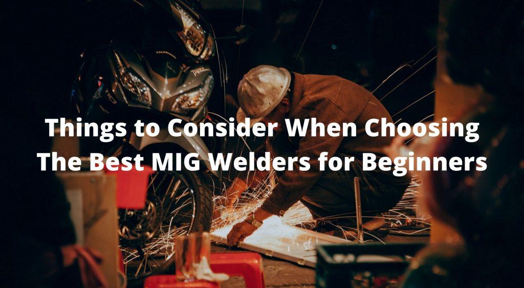 Best mig welders for beginners