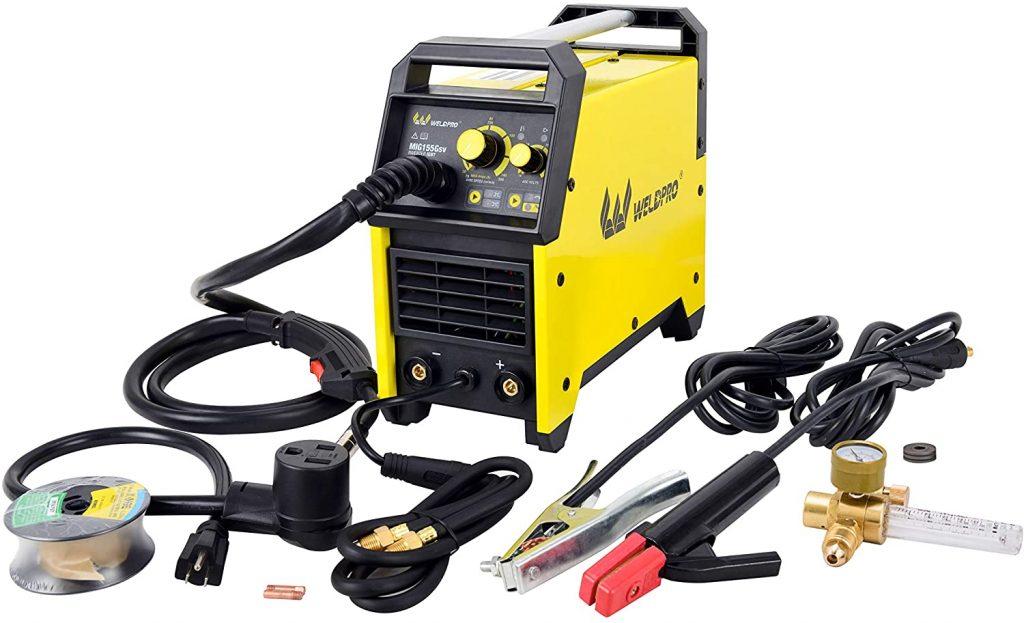 WELDPRO 155 AMP MIG/Stick Welder