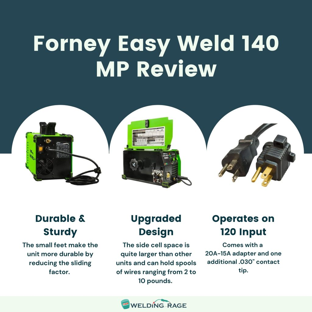 Forney Easy Weld 140 MP Review - Key Features