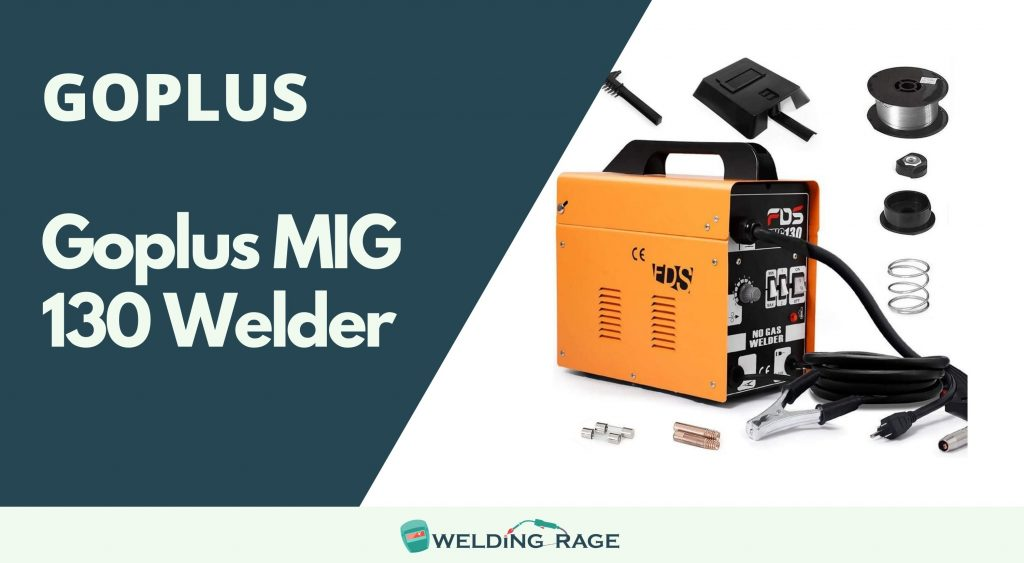 Goplus MIG 130m Welder Review