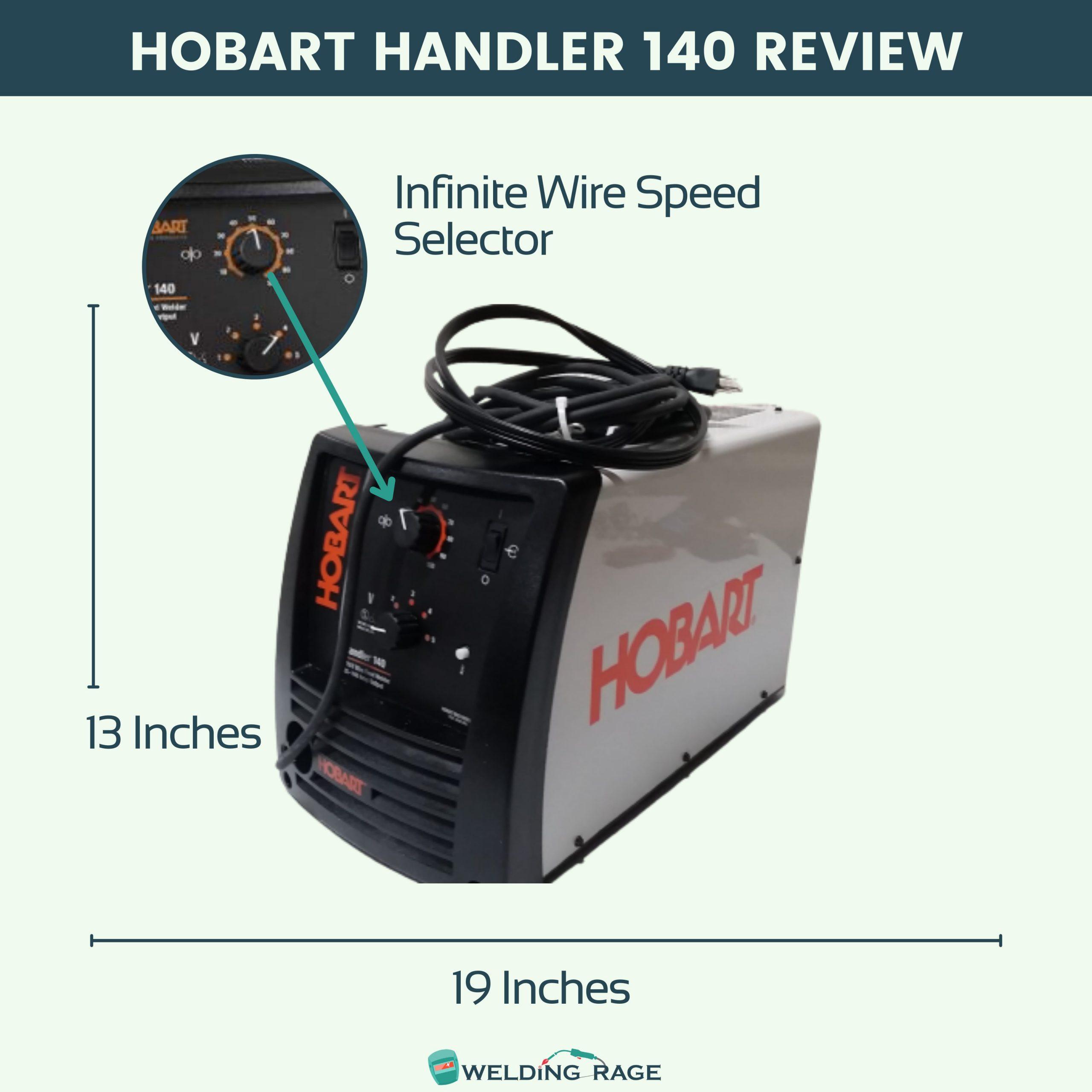 Hobart Handler 140 Review Features