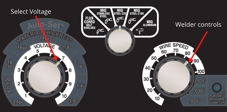 Millermatic 211 Manual Mode