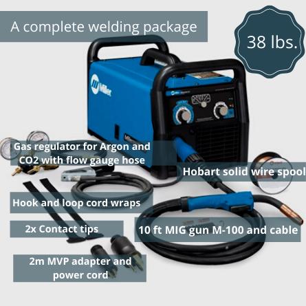 Millermatic 211 Complete Welding Package