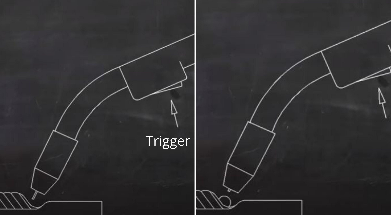 Welding Trigger MIG Welding Nozzle