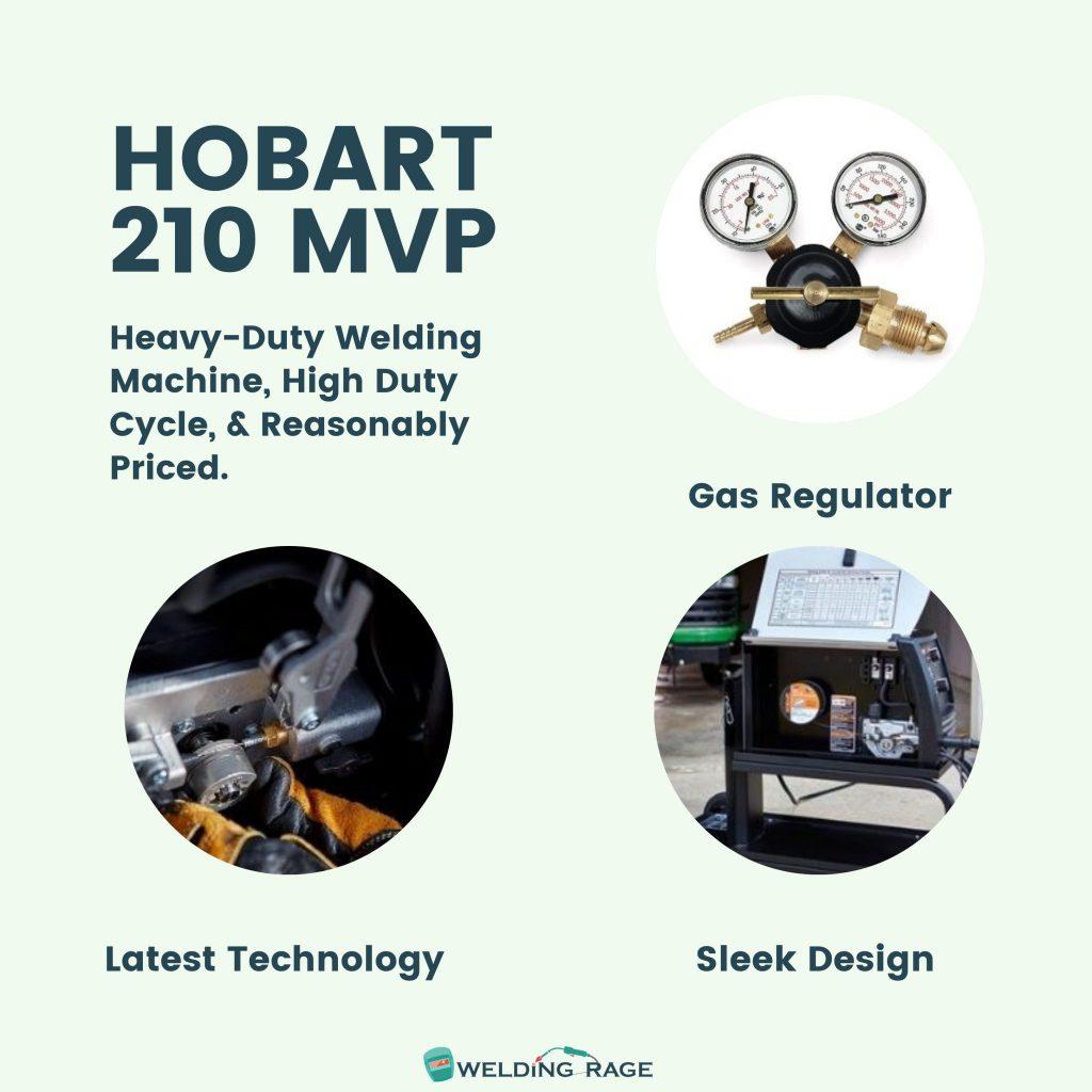 Hobart Handler 210 MVP Features
