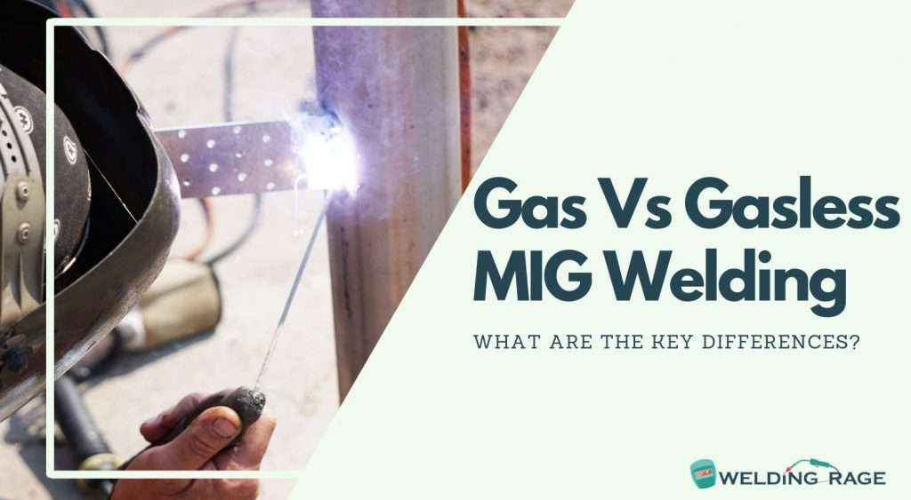 Key Differences Between Gas and Gasless MIG Welders